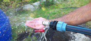 очистка водоподъемных труб в артезианской скважине