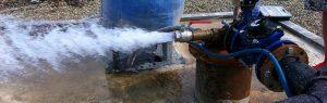 проводим очистку скважины на воду Самара