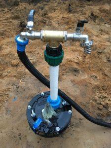 обустройство промышленной скважины на воду